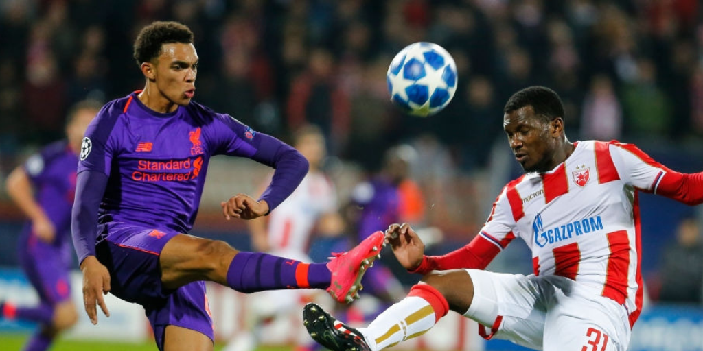 Liverpool's Champions League progression in doubt following 2-0 defeat against Red Star Belgrade