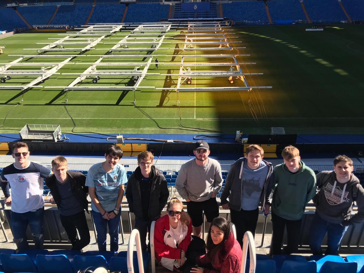 Mania futbol de Madrid: My Madrid experience with the University ofGloucestershire